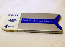 Sony Memory Duo Card to Stick adapter Cybershot Genuine Free Shipping Worldwide