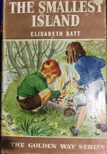 The Smallest Island ~ Elisabeth Batt HCDJ 1961 1st Edition Golden Way #9 Vintage