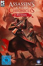 Assassin's Creed Chronicles: Russia - Uplay Key Code - assassins - [No Steam] PC