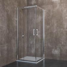 Box doccia bagno rettangolare quadrato cristallo 6mm porta scorrevole angolare