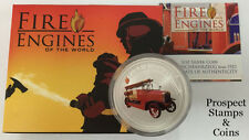 2006 Fire Engines of the World - German 1923 LF-15 Fire Engine 1oz Silver Coin