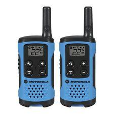 Talkabout Walkie Talkie 2 Pack Set 16 Mile Two Way Radios Blue Portable Audio