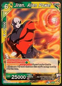 Jiren, Alien Power | BT10-151 UC | Green / Yellow | Dragonball Super TCG