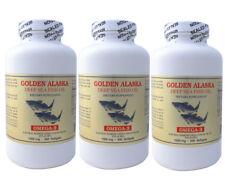 3 x NCB Golden Alaska Deep Sea Fish Oil, Omega 3, EPA DHA  300x3=900 softgels