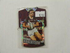 2009 Rugby League Classic set of 6 die cut foil cards Manly Sea Eagles