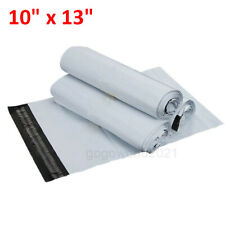 """100Pcs 10""""x13"""" Poly Mailers Shipping Envelopes Self Sealing Plastic Mailing Bags"""