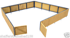Walthers # 3632 Corrugated Fence Kit Ho Scale Mib