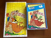 Yogi Bear vintage Jigsaw Puzzle 1976 woodpecker 100Pc in box cartoon