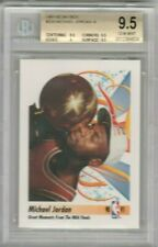 Michael Jordan 1991-1992 Skybox NBA Finals Moment BGS 9.5 Gem Mint *POP54* BULLS