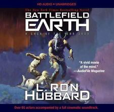 Battlefield Earth : A Saga of the Year 3000 by L. Ron Hubbard (2016, CD,...
