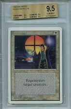 MTG Unlimited Death Ward BGS 9.5 Gem Mint Card Magic True Quad Amricon 4901