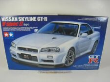 NISSAN SKYLINE GT-R R34 V SPEC II 1/24 TAMIYA (KIT ASSEMBLY)