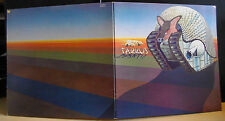 Tarkus Emerson Lake & Palmer Album Record Manticore Brown Label Crossed out No