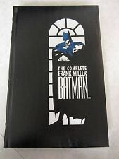 The Complete Batman ~ Frank Miller ~ Hardcover 1st Print ~ DC Comics 1989