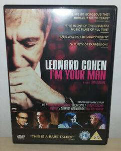 LEONARD COHEN - I'M YOUR MAN - DVD