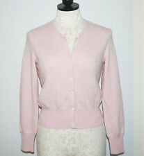 Ralph Lauren Rugby 100% Cashmere Pink Cardigan Sweater S