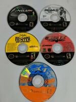 Nintendo GameCube Disc ONLY BLITZ SSX NCAA NBA 2k2 5 Games