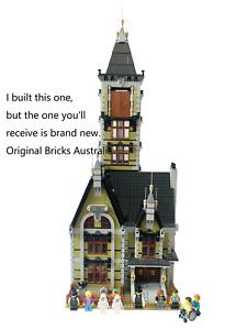 NEW Haunted House 10273 bricks fit Lego + Ghosts City Street Creator Expert
