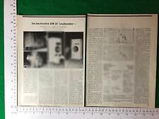 """Electrovoice 30W 30"""" loudspeaker Electro Voice EV vintage article largest"""