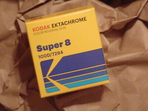 Ektachrome Lives& Processed all over the World, the NEW 100D Super 8 Movie Film