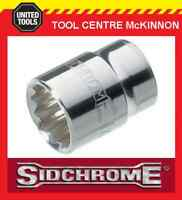 "SIDCHROME SOCKETS - 3/8"" DRIVE METRIC TORQUEPLUS STANDARD - ALL SIZES AVAILABLE"