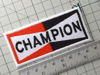 CHAMPION Racing Motorsports Embroidered Iron/ Sew-On Patch Dress Badge 9.3 x 4.3