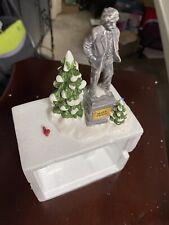 Department 56 Accessory: Village Statue of Mark Twain - Snow Village Damaged