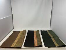 "3 Silk Decorative Pillow Cases Cushion Cover Throw FLOWER ASIAN Oriental 16.5"""