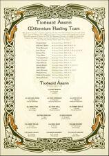 Tipperary Millennium Hurling Team: GAA Print