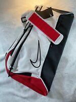 Nike Elite Basketball Duffel Bag- White/Red/Black (BA6163-100)