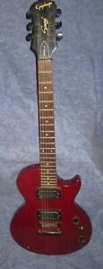 Alte kirschrote Epiphone Gibson Model Special II/WR  E-Gitarre UNGEPRÜFT  !