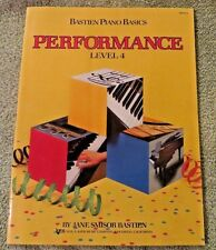 Level 4 Bastien Piano Basics Performance Wp214 Kjos