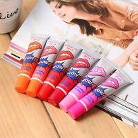 6 Colors Lip Gloss TATTOO Magic Color Waterproof Peel Off Mask Tint Long Lasting