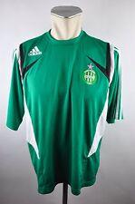 Saint Etienne Trainings Trikot Jersey Gr. M Adidas grün Loire ohne Sponsor