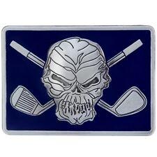Tattoo Golf Belt Buckle - Blue Gloss