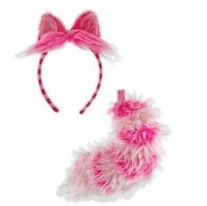 Cheshire Cat Ear and Tail Set - Cosplay Costume Accessories - Adult Teen