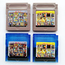 Gb Gbc Game Card 61 In 1 (Multi Cart for Gameboy, Gbc) or 108 Games In 1 Gift