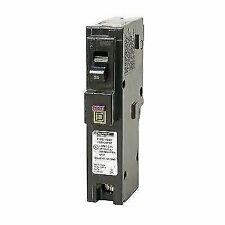 Square D Hom120Pdfc Homeline Plug-On Neutral 20 Amp Single-Pole Circuit Breaker