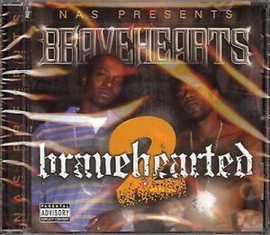 Nas presents Bravehearts - Bravehearted 2 - CD Album, 15 tracks, 2008 Megabucks