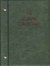 VST Green $1  Album is for  Circulated Australian coins new pages 1984 to 2016