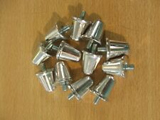 Rugby Union Aluminium Studs 21mm  x  12   Silver