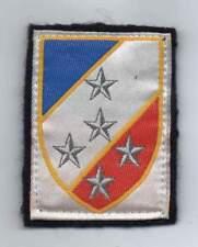 insigne tissu - 1 ère armée avec attaches