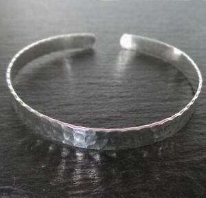 'Sol' Simplicity Cuff Bangle - 925 Sterling Silver Cuff Bangle