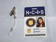 Navy CIS Special Agent Ziva David , ID - Karte , ID Badge , NCIS