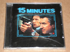 15 MINUTES (MOBY, PRODIGY, MAXIM) - SOUNDTRACK - CD SIGILLATO (SEALED)