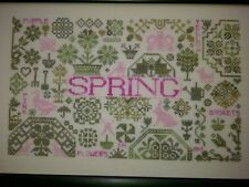 10% Off Remembering ByGone Stitches X-stitch Chart - Spring Quaker Seasons