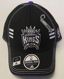 NWT NBA Sacramento Kings Adidas Official Team Headwear Climalite Cap Hat NEW!