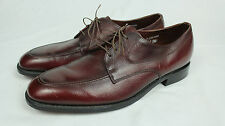 Vintage Regal Shoe Company Brown Leather Derby Shoes 40's 50's Made in USA