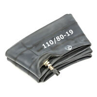 Heavy Duty 110/80-19 Inner Tube 19 Inch Butyl Rubber Straight Valve Motorcycle