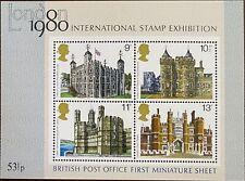 1980 Great Britain Miniature Sheet - British Post Office (First) Mnh